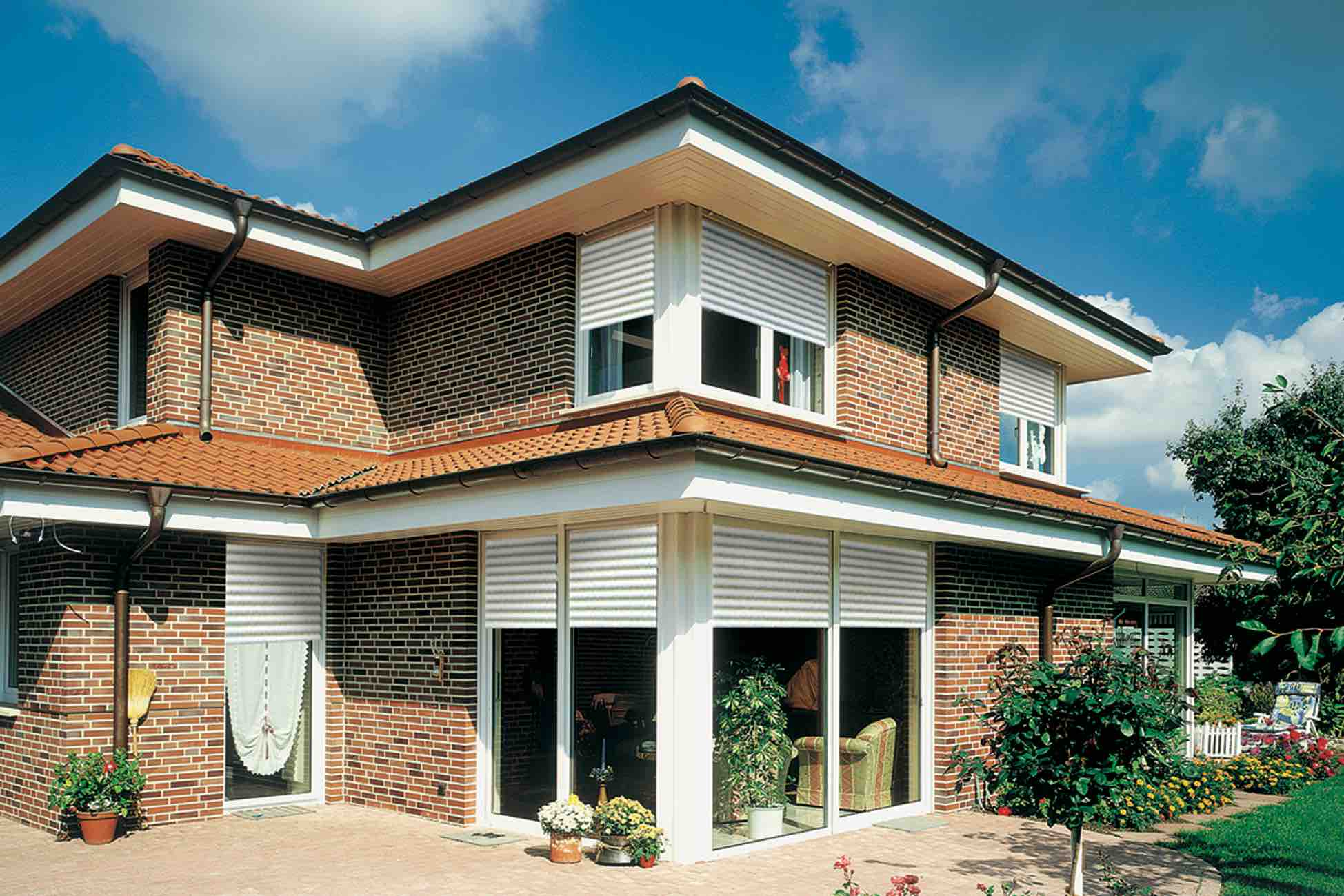 A lovely home in Thailand with VEKA uPVC windows and doors.