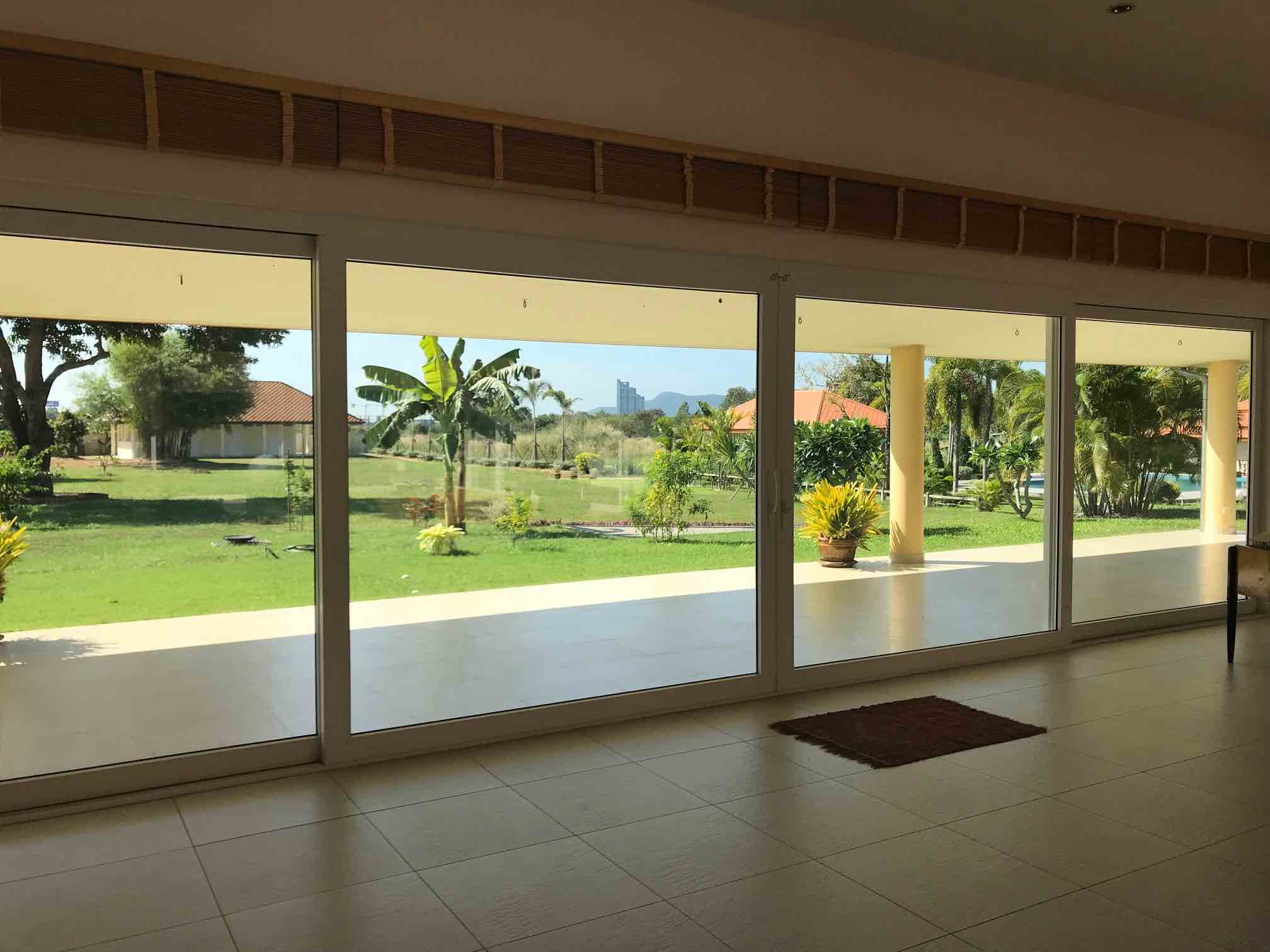 ARC-CMR - uPVC Window to Garden