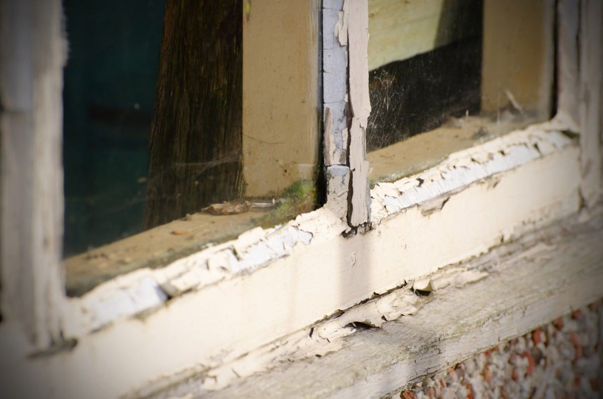 Replace windows or doors before they look like this.