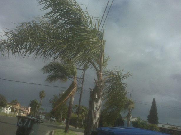 Storm in Thailand