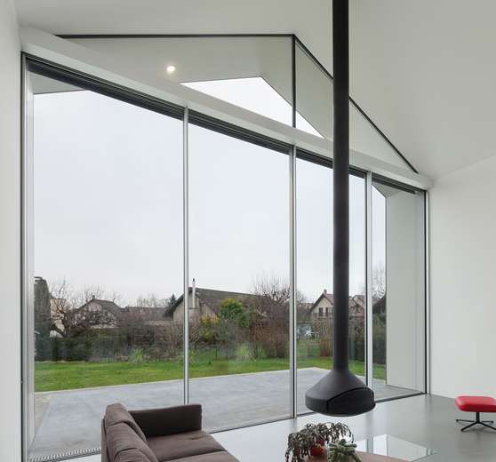 Pellucid Window in Living Room